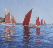 Tim Hall, Sea Salt and Sails, Regatta, Mousehole