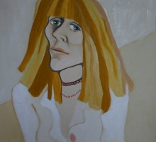Self Portrait 1976, Charlotte Johnson Wahl