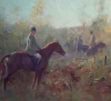 Chestnut in the morning light by Frances Bell Buy Art