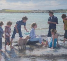 Daymer Bay by Nicholas St John Rosse