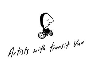 Artist with Transit Van