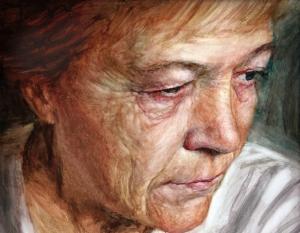 Vincent Brown, Artist's Mother (detail)