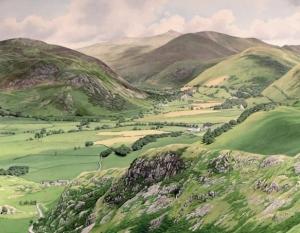 Roger Allen, Cader Idris from Bird Rock (detail)