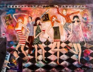 Rosa Sepple, Swinging Sixties (detail)