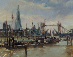 John Walsom, Tower Bridge from Wapping