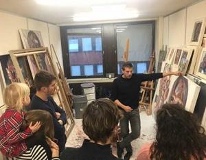 Tim Benson Studio Visit
