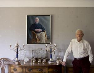 Derek Allen by Miriam Escofet Portrait Commisisons MAll Galleries