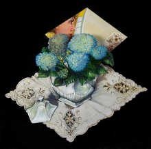 Green-Anthony-White-Tureen-of-Blue-Hydrangeas-in-front-of-a-Green-Painting.jpg