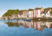 Heath-Margaret-Evening Reflections, Weymouth Harbour.jpg