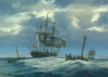 "Huband-Geoffrey-""The Hunters"" out of Nantucket Circa 1830.jpg"