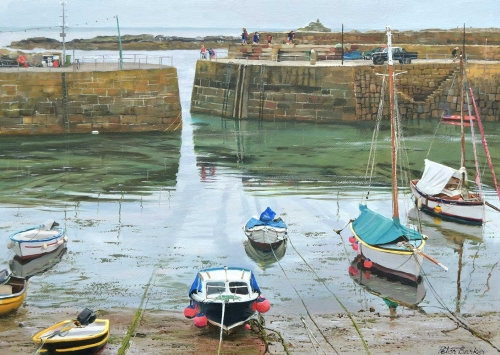 Barker-Peter-Radiating-Ropes-&-Boats,-Mousehole.jpg
