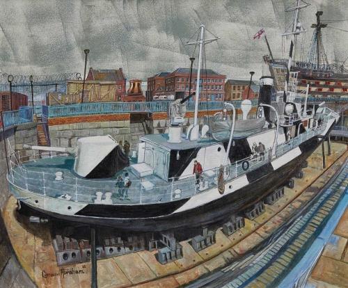 Abraham-Lorraine-HMS-M33-Dazzles-in-Dry-Dock-Portsmouth.jpg