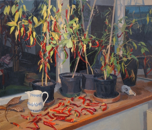 Aggs-Chris-Studio-at-Night-with-Chillie-Peppers.jpg