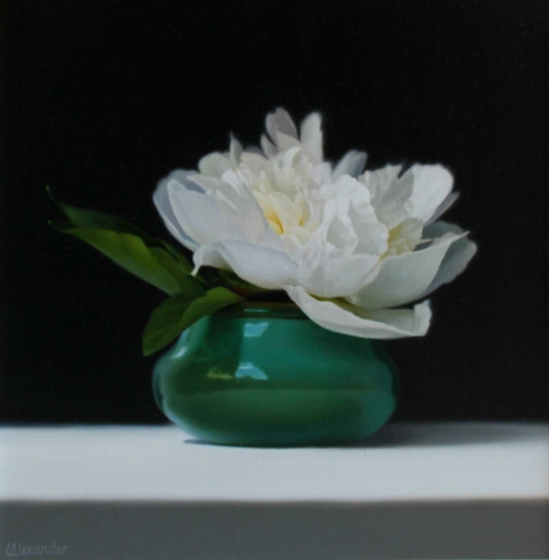 Alexander-Linda-White-Peony-in-a-Green-Pot.jpg