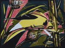 Januski-Ken-American Goldfinch Eating Thistle.jpg