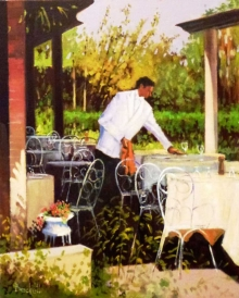 Beckett-Fred-Setting-for-Lunch,-Cipriani's,-Torcello.jpg