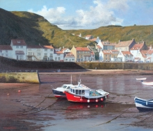 Denton_Kenneth_Early Morning Edd Tide Staithes.jpg