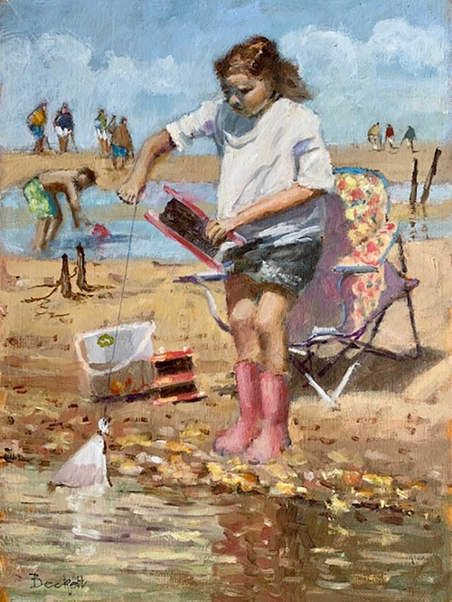 Beckett-Fred-Young-Girl-Crabbing-Walberswick.jpg