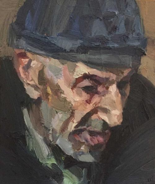 Benson-Tim-Man-wearing-a-woolly-hat-Marrakech-oil-on-board-.jpg