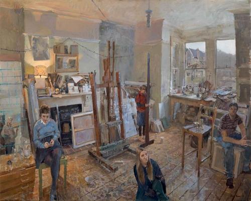 Brown-Peter-Ella-Toby-Ned-and-Hattie-in-the-Studio-2019.jpg