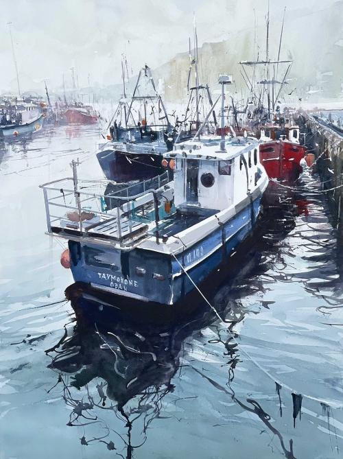 Buck-Mark-Mallaig-Harbour-in-the-Rain.jpg
