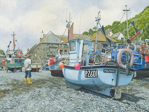 Butt-Alistair-Mornings-Catch-Being-Hauled-Ashore-Cadgwith.jpg