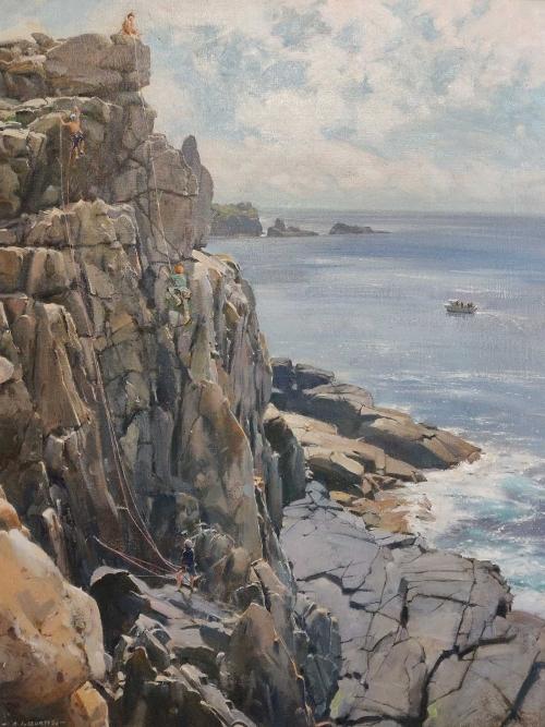 Curtis-David-Climbers-On-The-Sea-Cliffs-Sennen-Cove.jpg