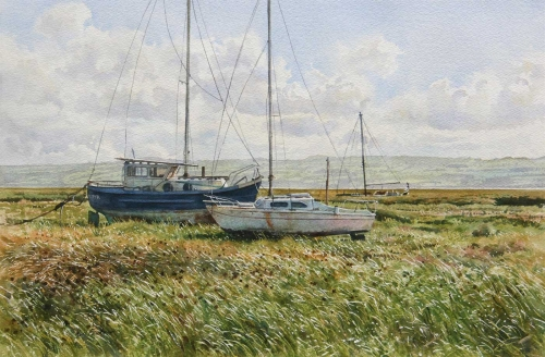 Faulkner-Neil-Strong-Breeze-The-Dee-Estuary.jpg