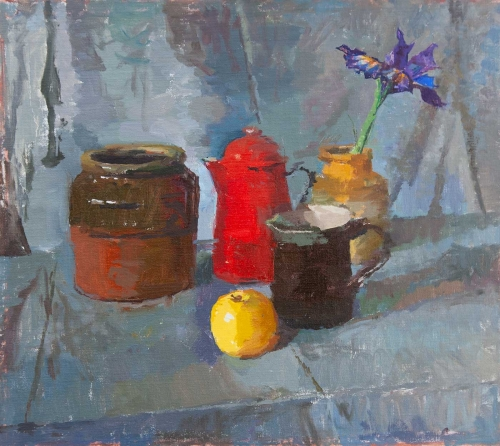 Fowler-Alex-Still-Life-with-Apple-and-Red-Coffee-Pot-.jpg