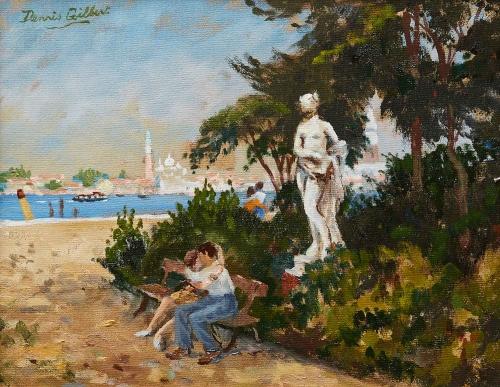 Gilbert-Dennis-Lovers-In-Venice.jpg
