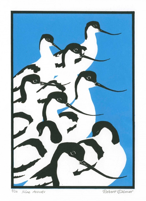 Gillmor-Robert-Nine-Avocets.jpg