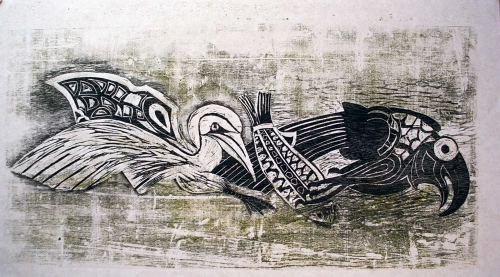 Goold-Madeline-Two-birds-fighting-over-a-fish.jpg