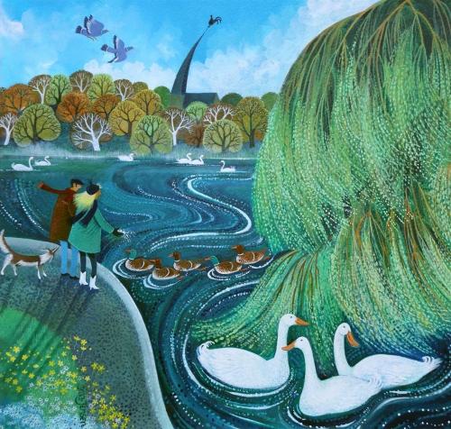 Graa-Jensen-Lisa-Feeding-The-Ducks.jpg