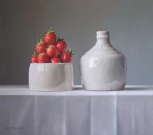 McKie-Lucy-Strawberries with Earthenware Bottle.jpg