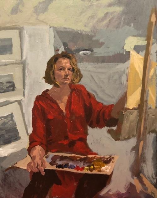 Herbert-Roche-Kate-Self-Portrait-in-Red-Shirt.jpg
