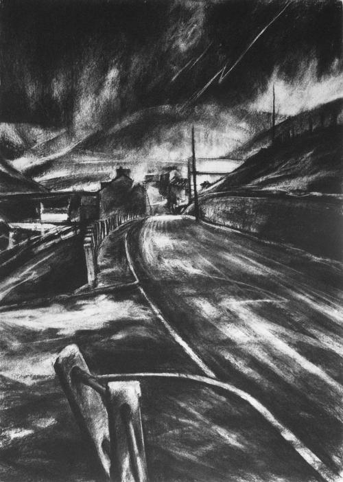 Carpanini-David-Thunder mountain, darkness visible. etching. 18.75 x 13.25 inches.jpg
