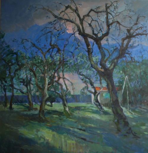 Corsellis-Jane-Olive Trees at Lake Garda.Morning.jpg
