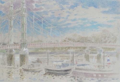 Halliday-Charlotte-Albert Bridge Sunday Morning.jpg