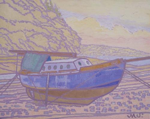 Sheppard-Maurice-Blue Boat Pembrokeshire.jpg