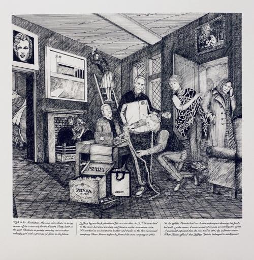 Karlsen-Linda-The Rake's Progress 'The Heir' Hogarth 1735 a modern morality tale L M Karlsen 2021.jpeg