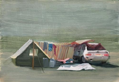 Katzir-Michal-Resting-with-Subaru-on-the-Beach.jpeg