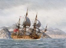 """Myers-Mark-Narbrough's """"Sweepstakes"""" in the Straits of Magellan.jpg"""