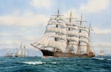"Myers-Mark-The ""Star of Scotland"" Making Sail.jpg"