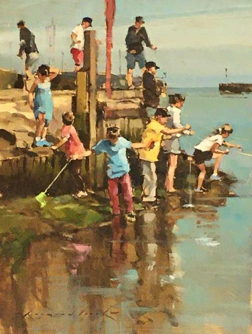 Leech-Raymond-Crabbing-by-the-Harbour-Entrance.jpg