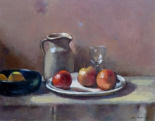 Baffoni-Pier Luigi-Still Life with Stoneware Jug and Pomegranates.jpg
