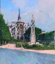 Brown-Peter-Notre Dame, Morning.jpg