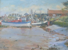 Curtis-David-Spring Sun and Low Water - Brancaster Staithe.jpg