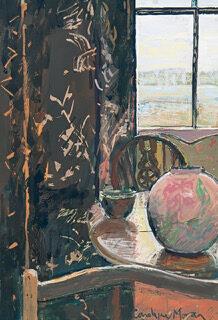 Moran-Carolyne-Pink Pot and Portland View.jpeg