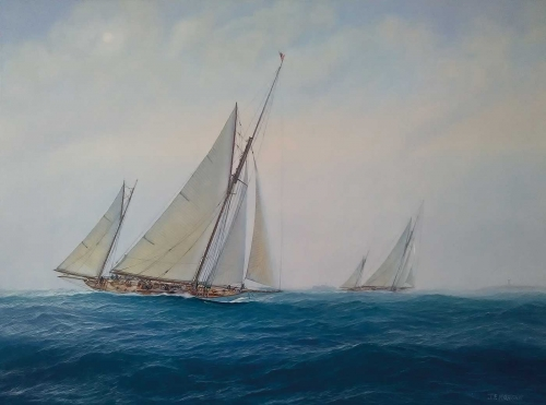 Morgan-Jenny-On-Passage-Between-the-Races-the-Yachts-Navahoe-and-Cariad.jpg