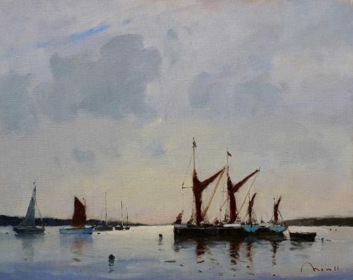 Mowll-Benjamin--Thames-Barges-first-light.jpg
